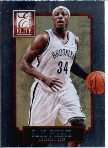2013   14 Panini Elite Basketball Card   150 Paul Pierce Brooklyn Nets b1c95a6b4c76