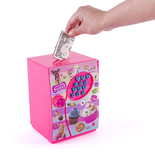 Hot Focus Piggy Bank – Sweet Crush Digital Money Safe Toy Bank with Electronic Password Lock – Batteries Included