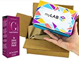 myLAB Box Bundle - Chlamydia/Gonorrhea/HIV Mail-In Test Kit (FEMALE, Lab-Certified Results in 3-5 days) + Ocean Sensuals [G] Natural Female Stimulating Gel and Personal Lubricant (1.7 fl oz)