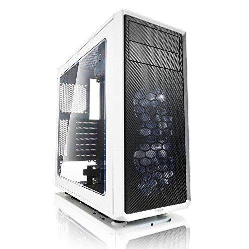 CPU Solutions Intel i7 Quad Core PC. 32GB RAM, 1TB HDD, 240GB SSD, Windows 10, GTX1060 w/3GB, 750W PS, White Case