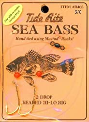 Tide Rite Sea Bass 2 Drop Ready Made Rig - 30