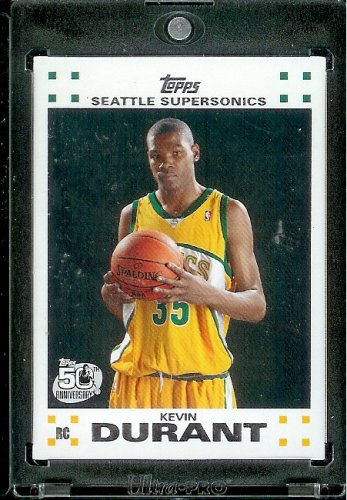 Topps Durant Seattle Sonics Basketball
