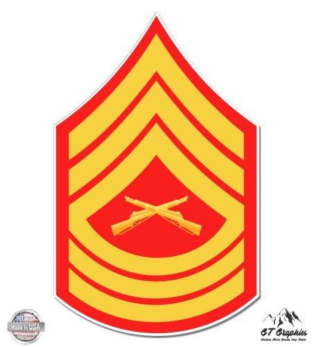 USMC E8 Msg Master Sergeant Rank - 3