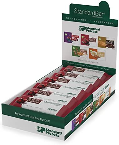 Standard Process – StandardBar – 18 Bar Pack – Cocoa Cherry