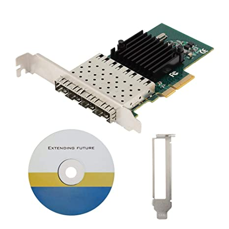 Mavis Laven Tarjeta de Red Ethernet de 4 Puertos SE-LGI350A ...