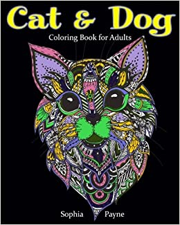 Cat Amp Dog Coloring Book For Adults