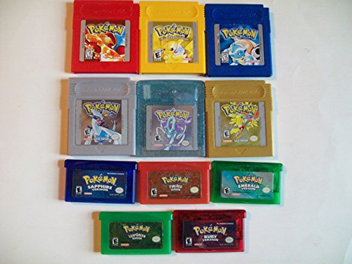 Pokemon Color Collection Batteries Game Boy