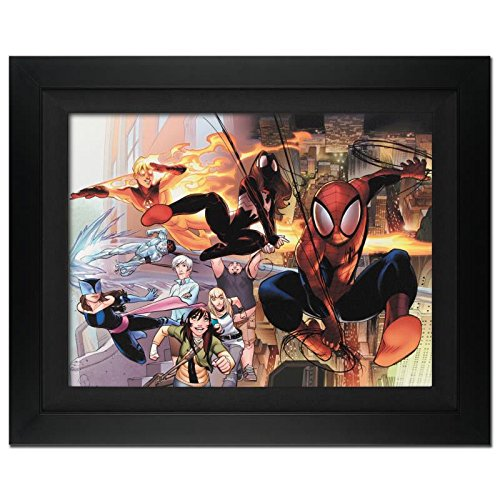 STAN LEE signed ULTIMATE SPIDER-MAN Marvel ORIGINAL COMIC Artwork COA fr.