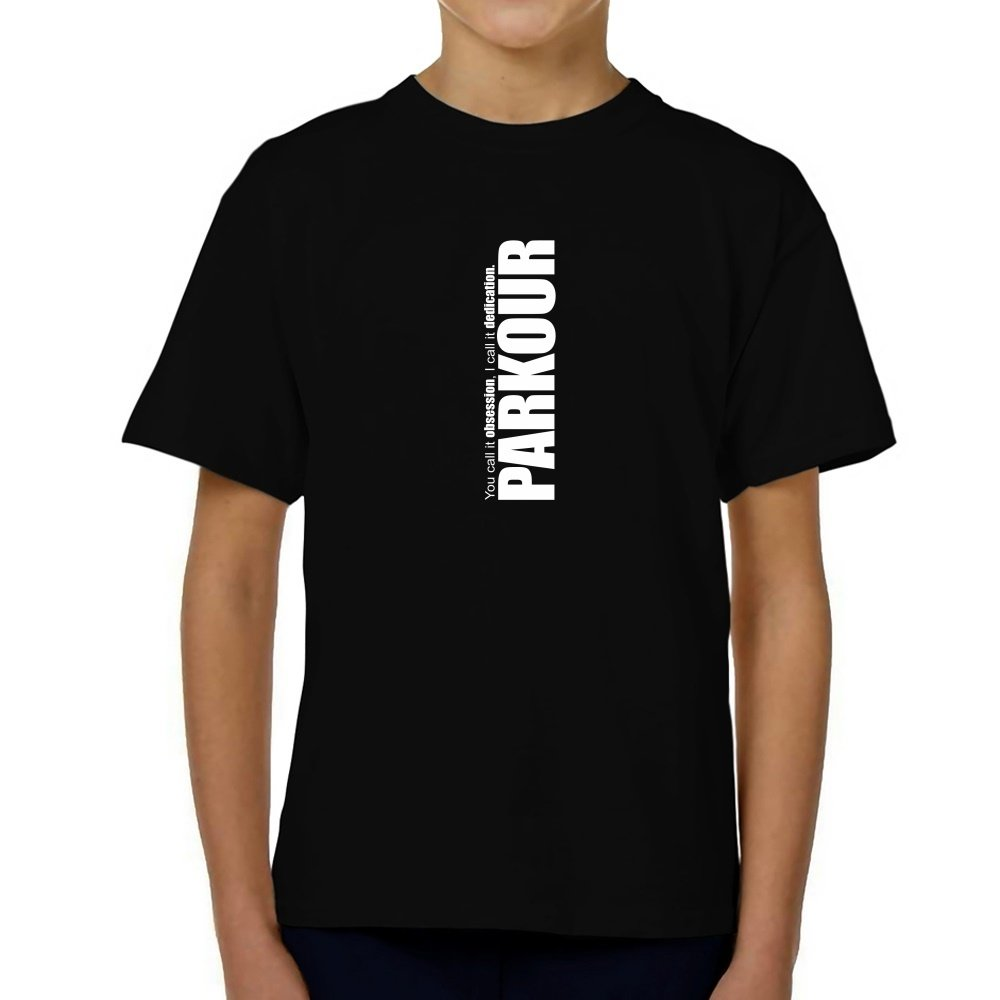 Teeburon Parkour DEDICATION Parkour Youth T-Shirt
