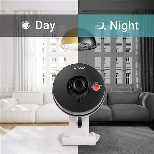 Funlux inalámbrico Audio bidireccional cámara y 6 meses de almacenamiento en la nube - All Inclusive Bundle - Smart HD al aire libre WiFi Cámaras IP con ...