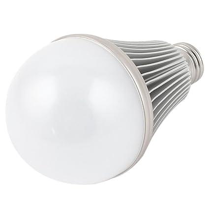 9 W E27 Base 75 mm diámetro de bola de bombilla LED carcasa de aluminio disipador