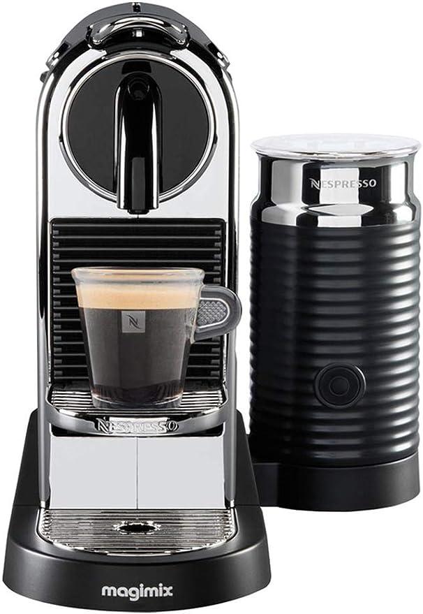 Magimix Citiz & Milk Independiente Máquina espresso 1 L - Cafetera (Independiente, Máquina espresso, 1 L, Cápsula de ...