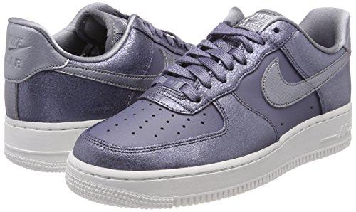 Wmns Air Chaussures Carbon light De Mtlc li Gris Force 1 Gymnastique '07 Nike 005 Grey Cool ad4Fxwag