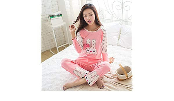 Amazon.com: MH-RITA 2017 Autumn Pyjamas Women Pijamas Cartoon Pig Character Pajamas Sets,Women Pajamas 10,L: Clothing