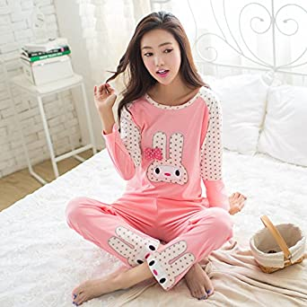 MH-RITA 2017 Autumn Pyjamas Women Pijamas Cartoon Pig Character Pajamas Sets,Women Pajamas