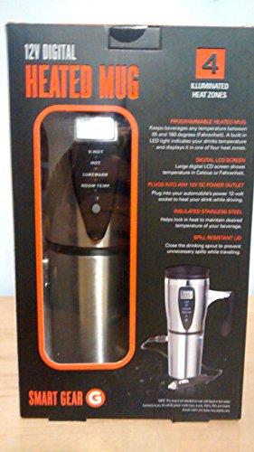 Smartgear 12V Digital Heated Mug
