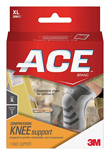 ACE Knitted Knee Support, Extra-Large (Pack of 2)