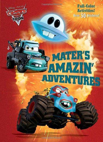 Download Mater's Amazin' Adventures Full-color Activity Book With Stickers pdf