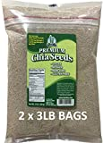 Get Chia Brand WHITE Certified Organic Chia Seeds - 6 TOTAL POUNDS = TWO x 3 Pound Bags