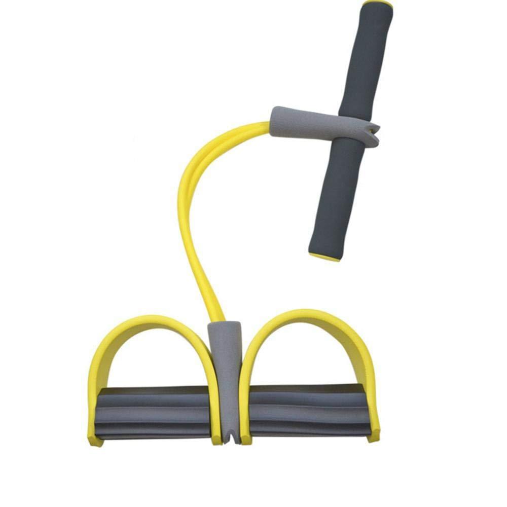liuhui Neue Single Tube Starke Fitness Widerstand Bands Latex Pedal Exerciser Frauen M/änner sitzen Zugseile Yoga Fitnessger/äte