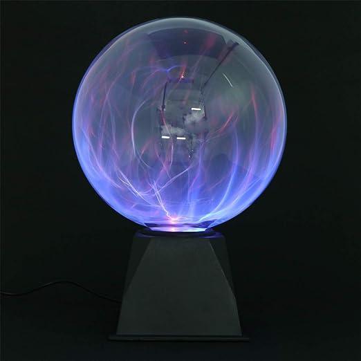 Juguetronica Sph/ère d/'/éclairs bleues et grande taille Boule Plasma Blueray