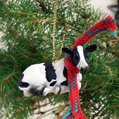 Conversation Concepts Holstein Cow Original Ornament]()