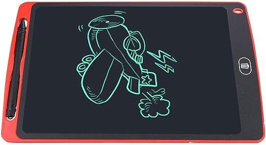 子供へのギフトとしてのEライティングボードLCDライティングボード、ABS描画ボード(red)