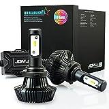 97 honda accord headlights jdm - JDM ASTAR 8th Generation 7000 Lumens Extremely Bright ZES Chips 9006 LED Headlights, Xenon White (9006)