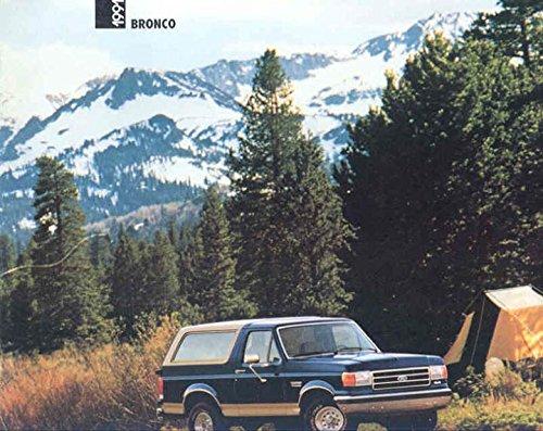 1191 Ford Bronco Truck Brochure (Ford Bronco Brochure)