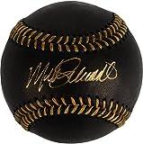 Mike Schmidt Philadelphia Phillies Autographed Black Leather Baseball - Fanatics Authentic Certified
