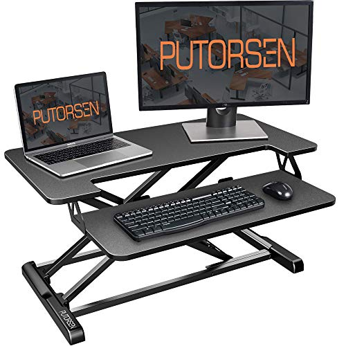 Desk Converter with Height Adjustable