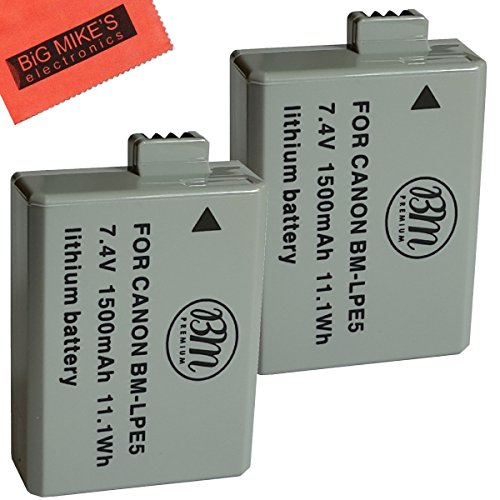 BM Premium 2 Pack of LP-E5 Batteries for Canon EOS for sale  Delivered anywhere in Canada