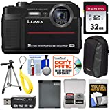 Panasonic Lumix DC-TS7 4K Tough Shock & Waterproof Digital Camera (Black) with 32GB Card + Battery + Case + Floating Strap + Tripod + Kit Review