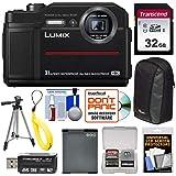 Panasonic Lumix DC-TS7 4K Tough Shock & Waterproof Digital Camera (Black) with 32GB Card + Battery + Case + Floating Strap + Tripod + Kit Review
