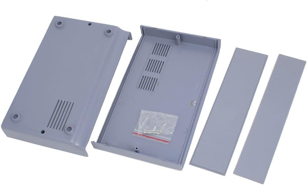 sourcingmap 160mm x 120mm x 70mm en plastique ABS Projet /électronique Bo/îtier raccordement bo/îte