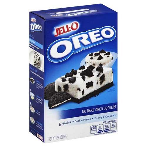 Jello No Bake Oreo Dessert, 12.6 Ounce -- 6 per case.