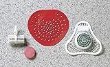 Toilet Rim Hanger, Non-Para, Cherry, PK12