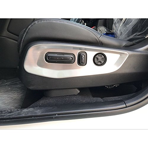 Beautost Fit for Honda CRV CR-V 2017 2018 2019 Matte Door Seat Button Adjust Switch Panel Cover Trim Kate Wenzhou automobile supplies factory