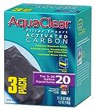 Aquaclear Activated Carbon Insert, 20-Gallon Aquariums, 3-Pack