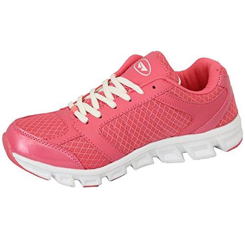 Sport Nuovo Vortex Mercury Scarpe Jogging Con Palestra Ginnastica Donna Rosa Da Rete Da Da Da Corsa Lacci Donna Scarpa UZFfFx