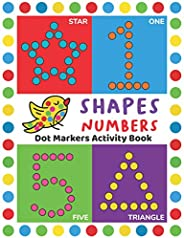 Dot Markers Activity Book: Easy Guided BIG DOTS | Do a dot page a day | Giant, Large, Jumbo and Cute USA Art P