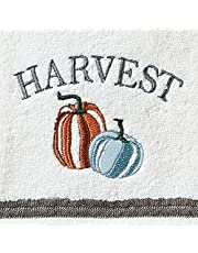 SKL Home by Saturday Knight Ltd. Natures Harvest Hand Towel (2-Pack), White