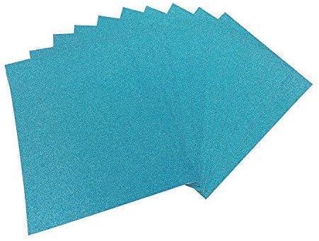 Tarjeta De Brillo A4 calidad premium de cartulina Azul Baja cobertizo paquete 250gsm de 5