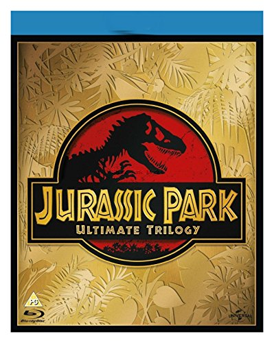 Jurassic Park Ultimate Trilogy 1-3 Blu Ray DVDS Complete Box Set Collection 1 2 and 3