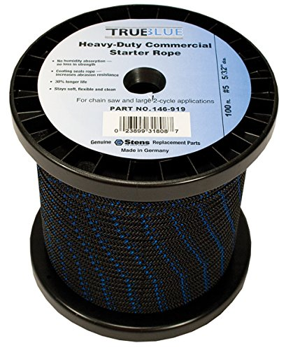 Stens 146-919 True Blue Starter Rope, 100-Feet from Stens