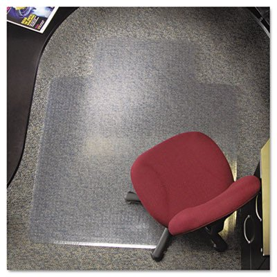 46x60 Lip Chair Mat, 24-Hour Performance Series AnchorBar for Carpet up to 1, Sold as 1 Each