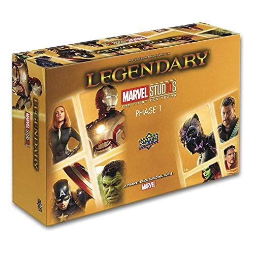 Legendary: A Marvel Deck Building Game: Mcu 10th Anniversary Core]()
