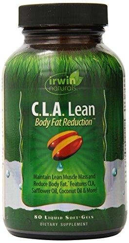 Irwin Naturals C.l.A. Lean Body la réduction des gras supplément, comte 80