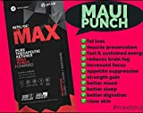 KETO//OS MAX Maui Punch CHARGED, Provides Sharp Energy Boost, Promotes Weight Loss and Burn Fats through Ketosi - 10 Sachet