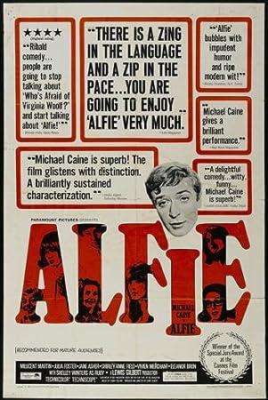 Póster de película Alfie C 27 x 40 en 69 cm x 102 cm Michael ...